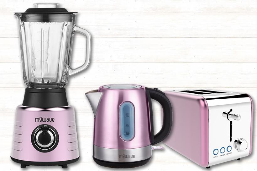 Línea de pequeños electrodomésticos MyWave exclusivos para Carrefour en apoyo a la lucha contra el cáncer