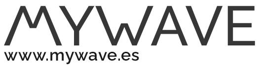 Logo MYWAVE con web