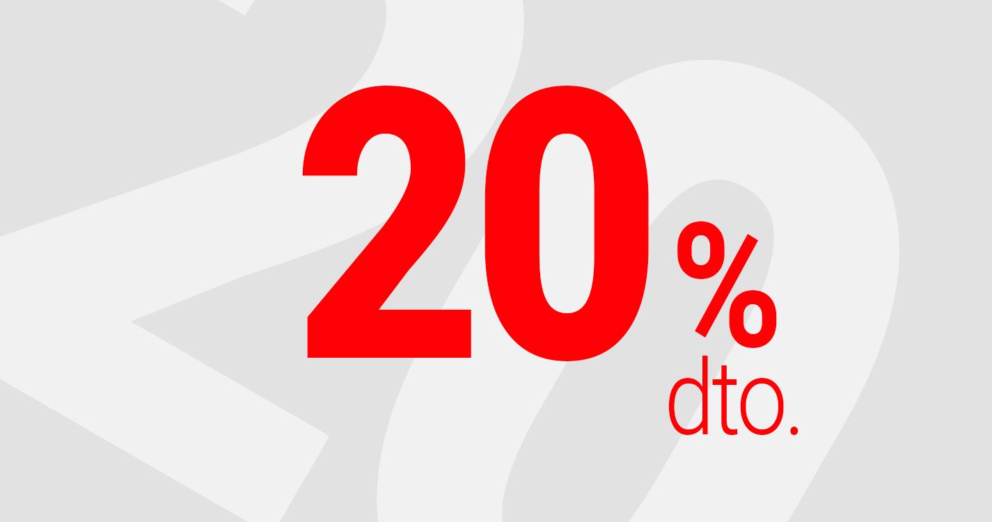 Rebajas del 40%